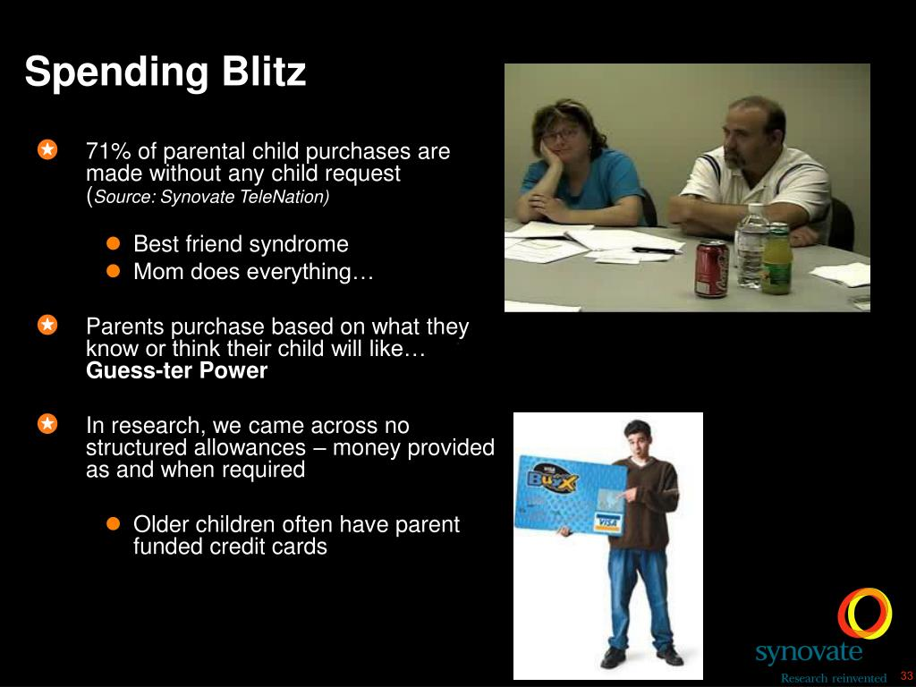 Spending Blitz