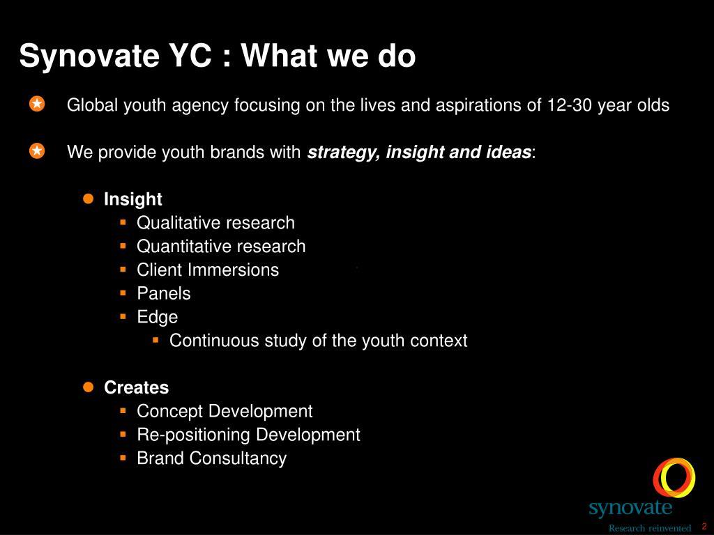 Synovate YC