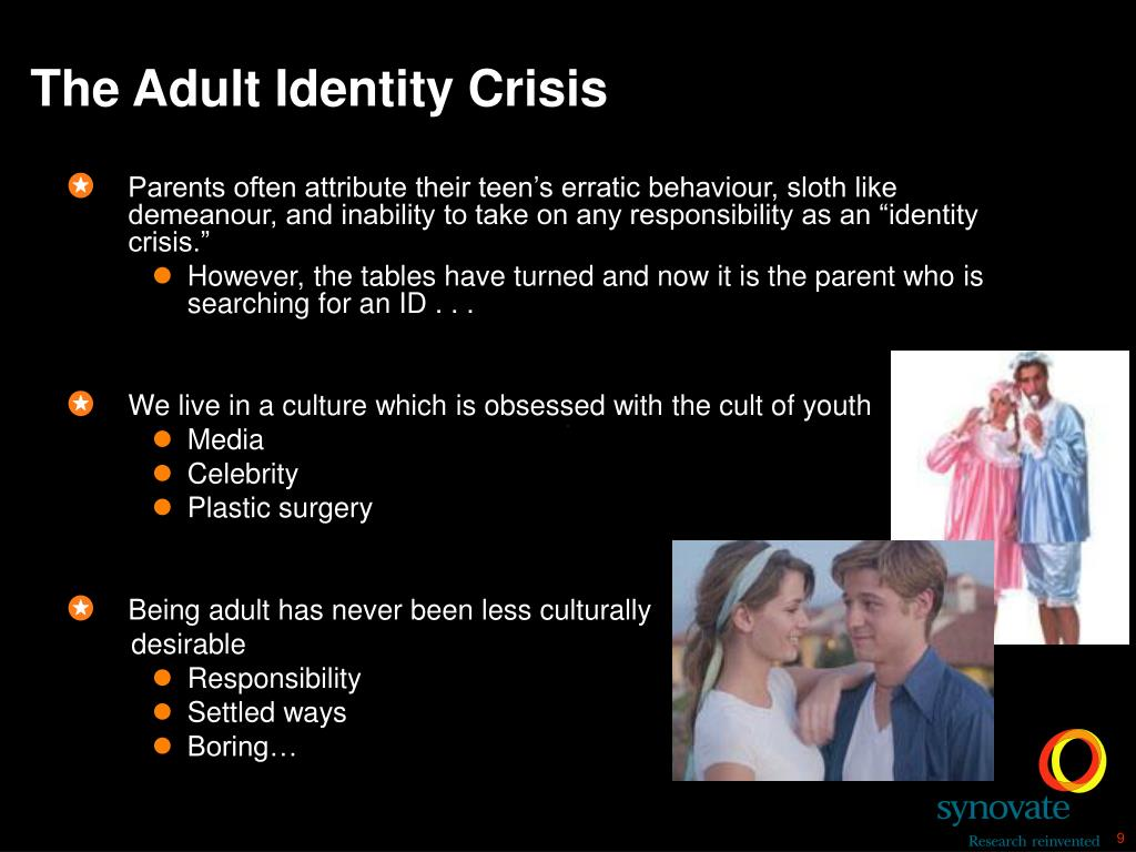 The Adult Identity Crisis