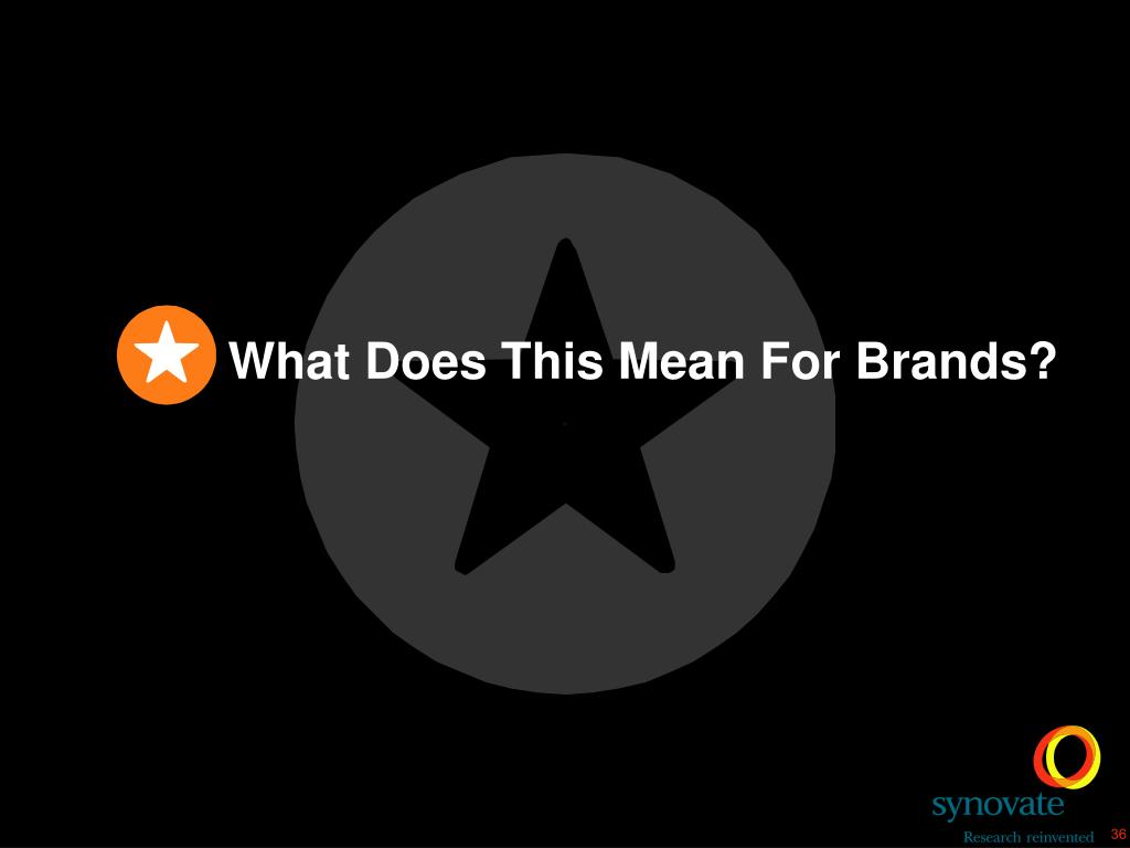 What Does This Mean For Brands?