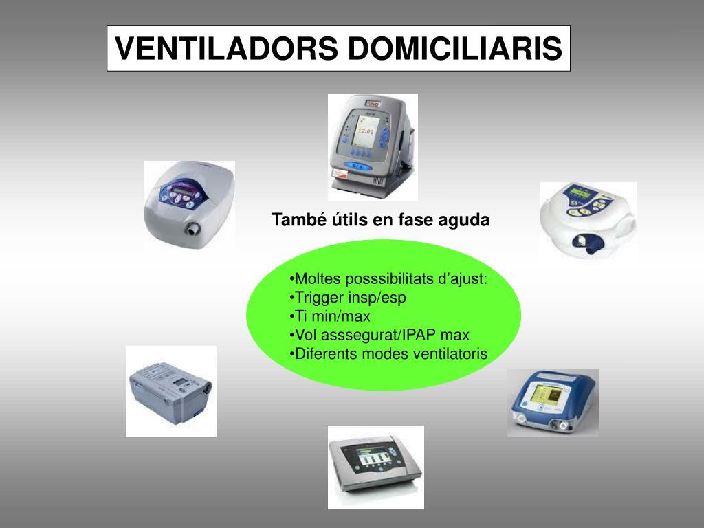 VENTILADORS DOMICILIARIS