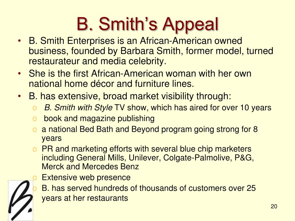 B. Smith's Appeal