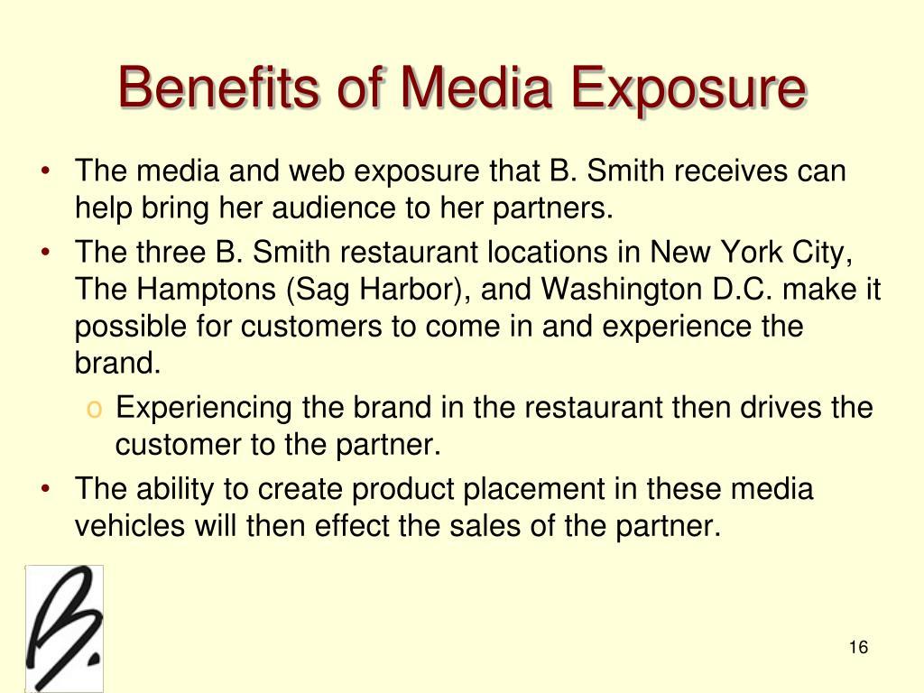 Benefits of Media Exposure