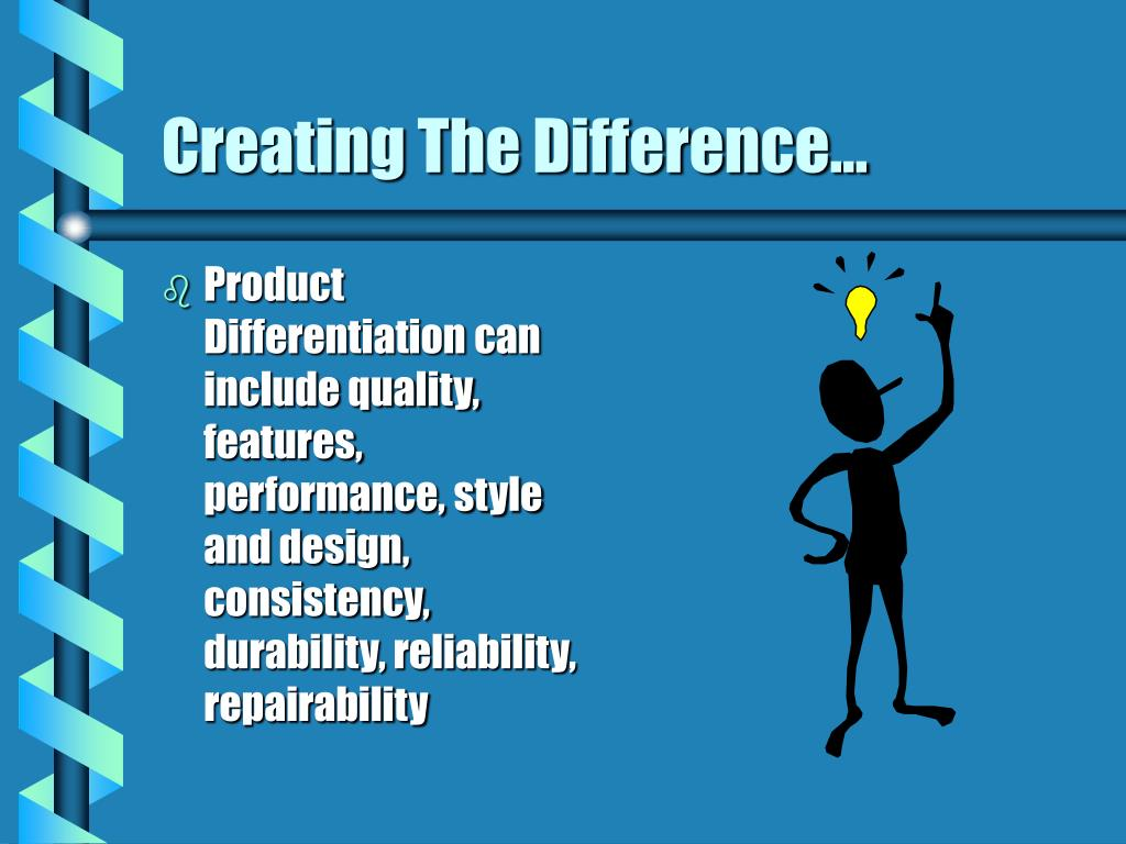 Creating The Difference...