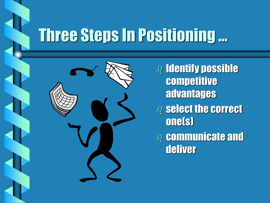 Three Steps In Positioning ...