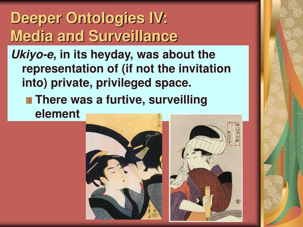 Deeper Ontologies IV: