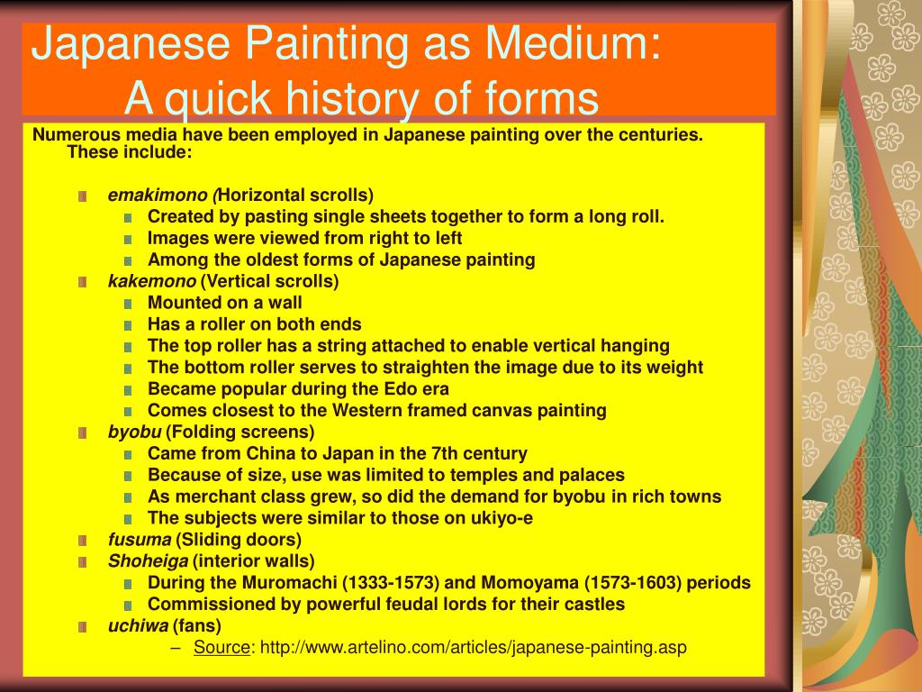 Japanese Painting as Medium:
