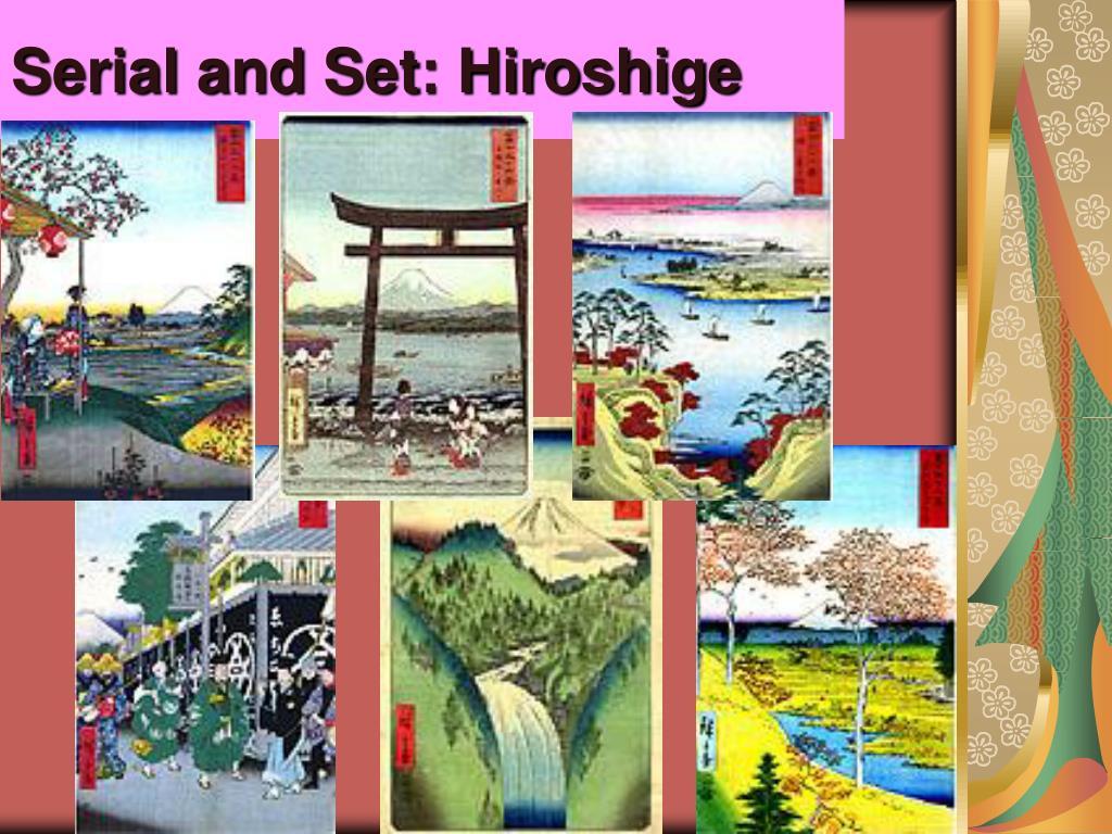 Serial and Set: Hiroshige
