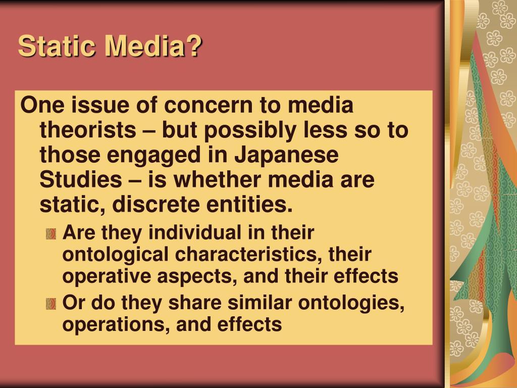 Static Media?