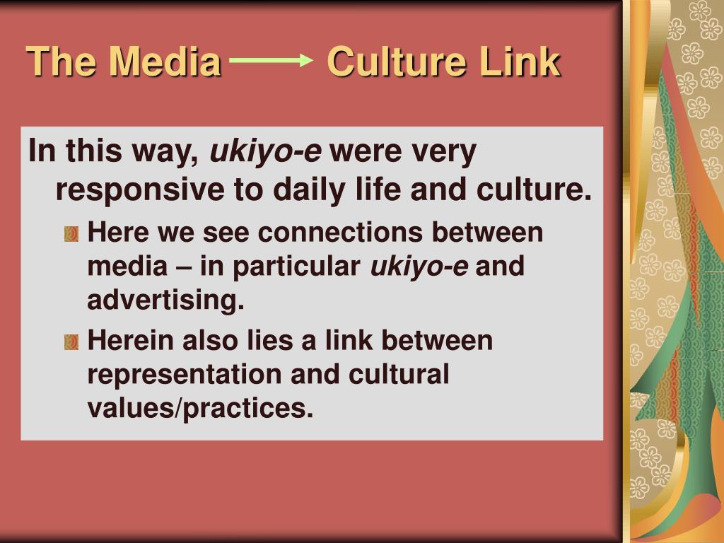 The Media Culture Link