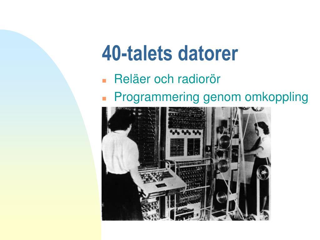 40-talets datorer