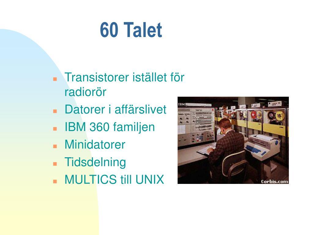 60 Talet