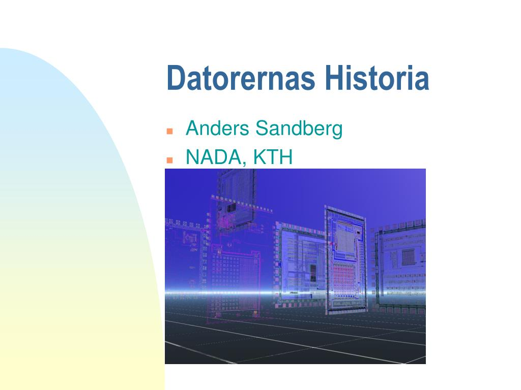 Datorernas Historia