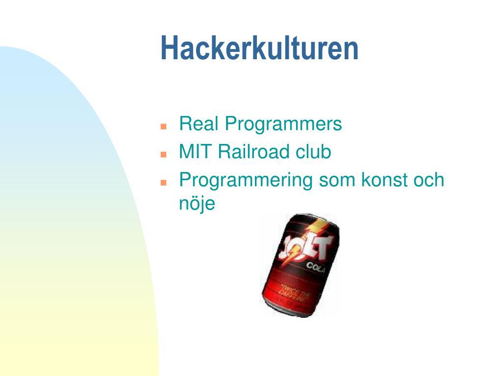 Hackerkulturen