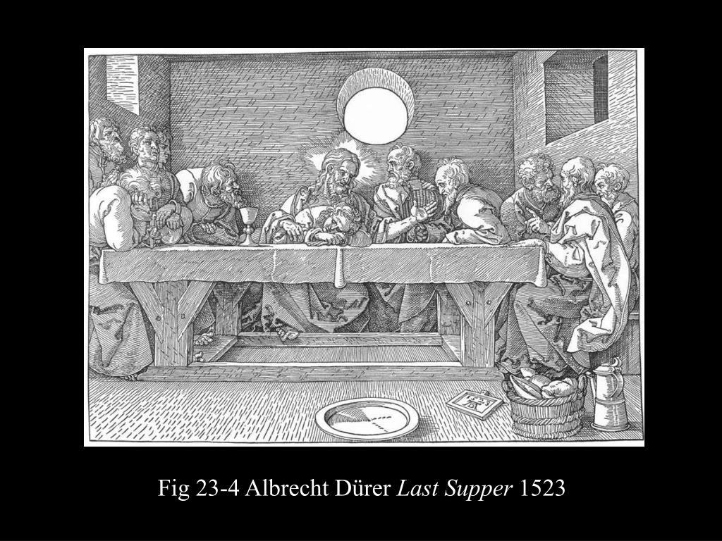 Fig 23-4 Albrecht Dürer
