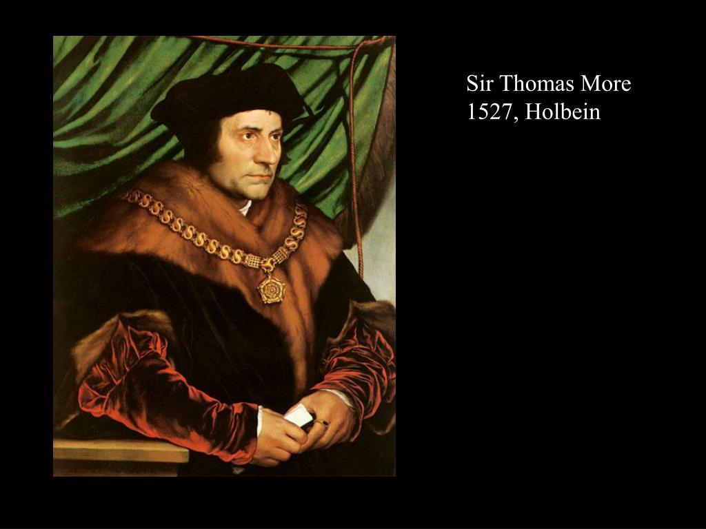 Sir Thomas More 1527, Holbein