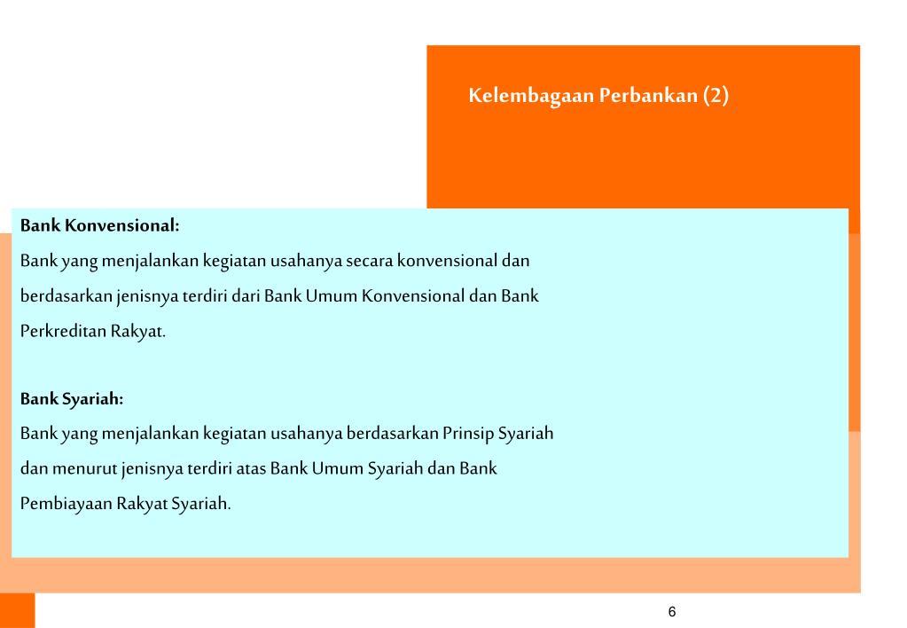 Kelembagaan Perbankan (2)
