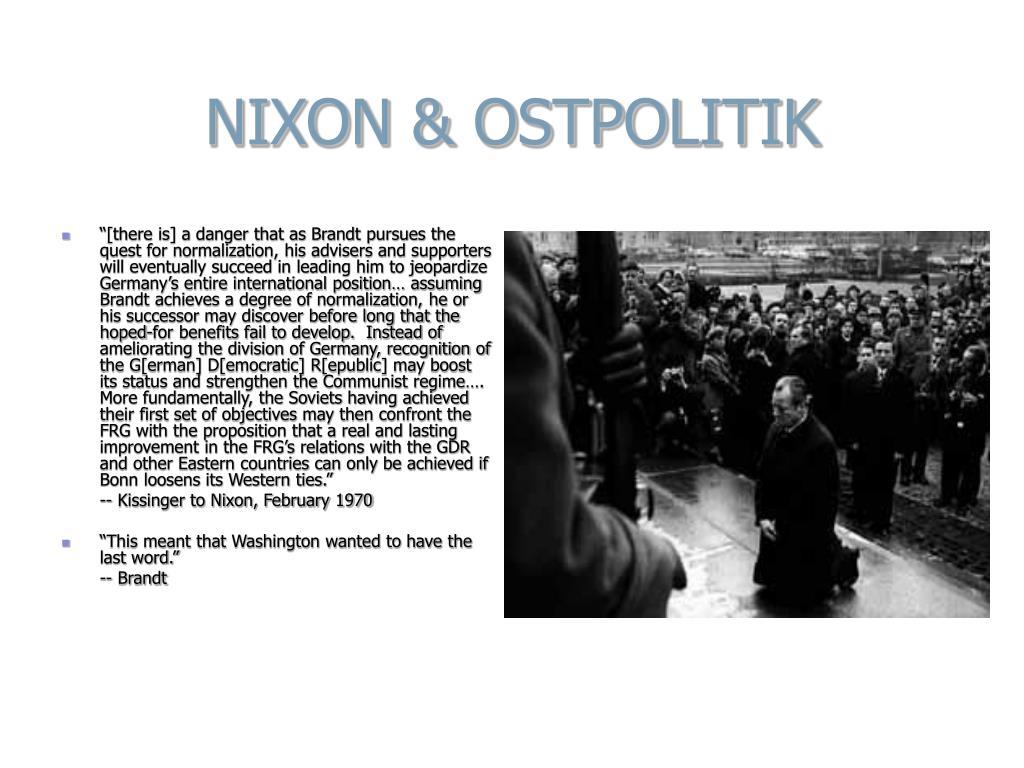 NIXON & OSTPOLITIK