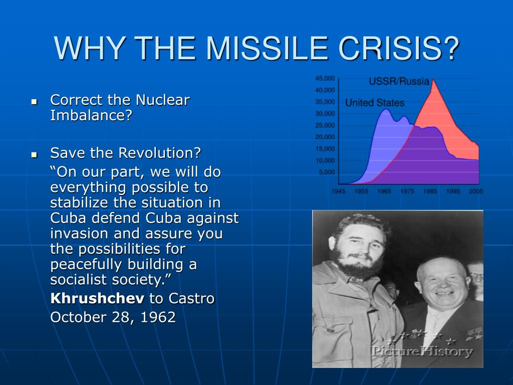 WHY THE MISSILE CRISIS?