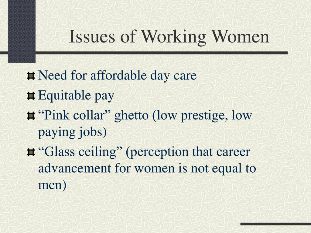 Issues of Working Women