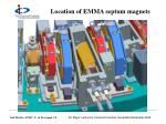location of emma septum magnets