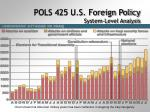 pols 425 u s foreign policy system level analysis13