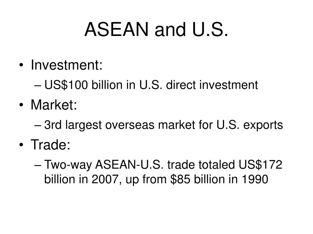 ASEAN and U.S.