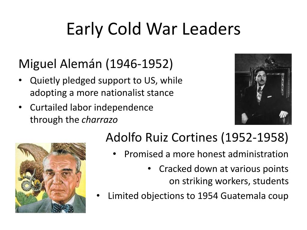Early Cold War Leaders