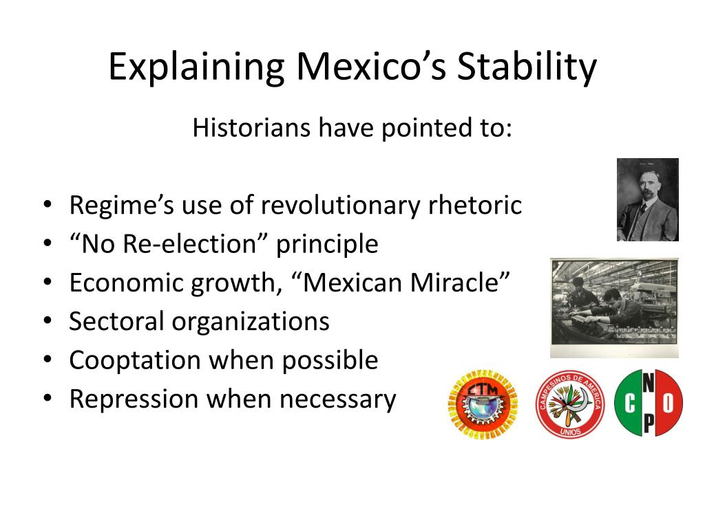 Explaining Mexico's Stability