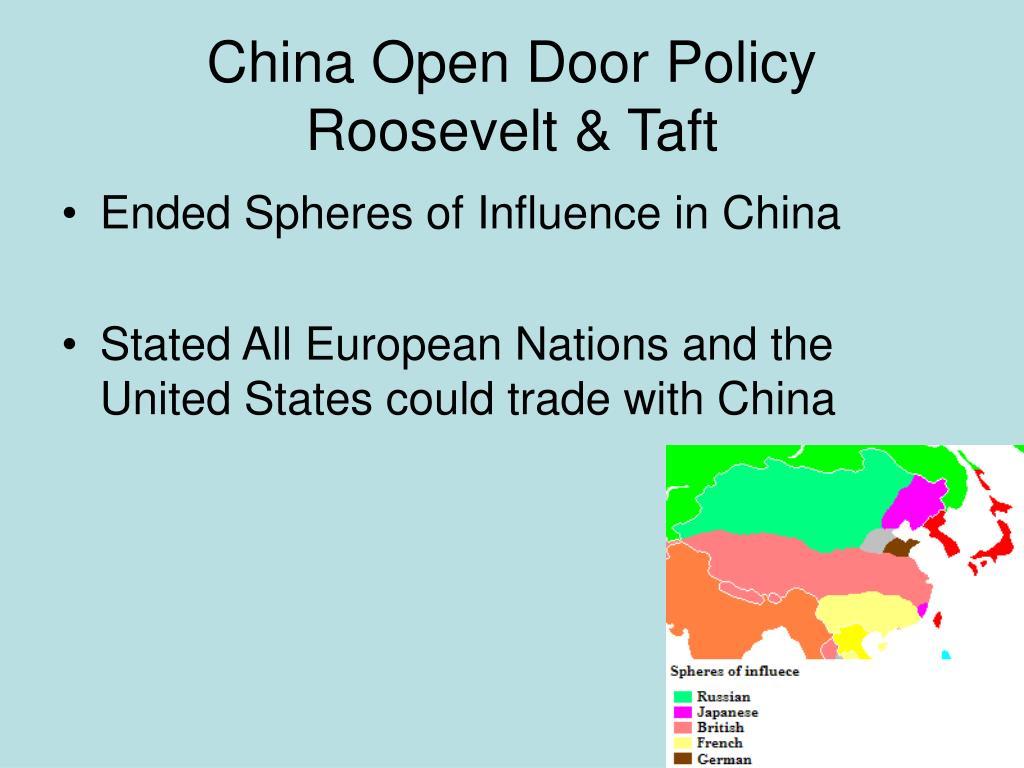 China Open Door Policy