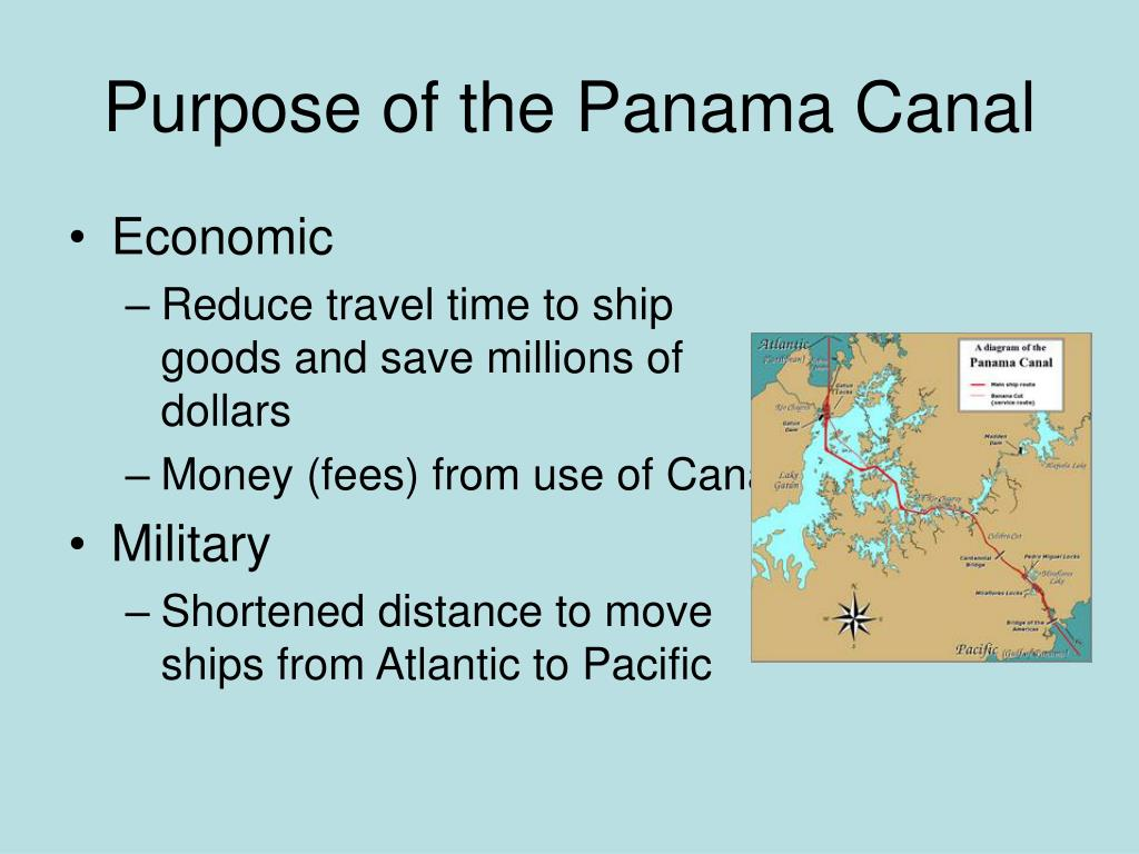 Purpose of the Panama Canal