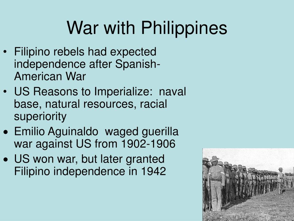 War with Philippines