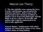 natural law theory40