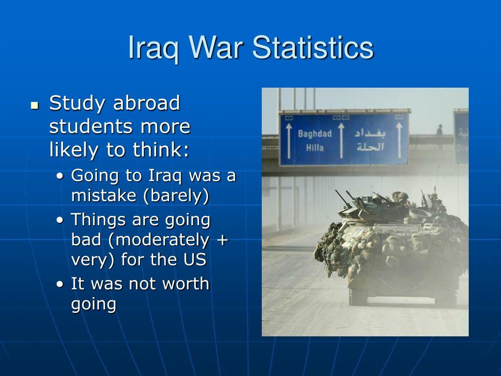 Iraq War Statistics