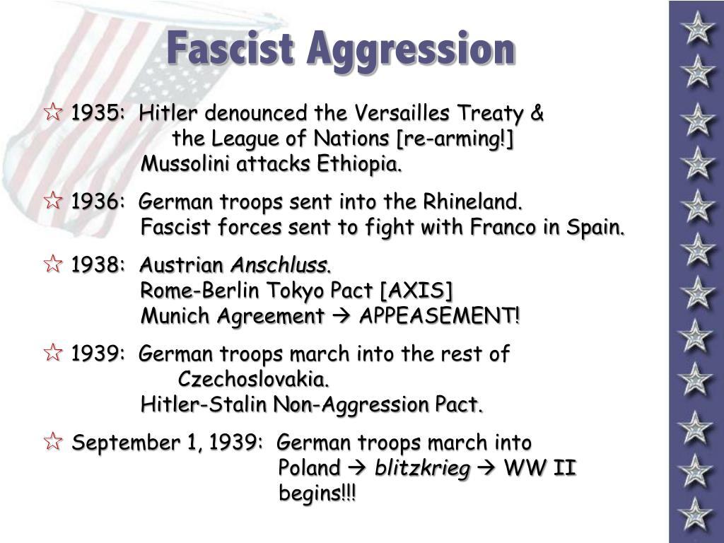 Fascist Aggression