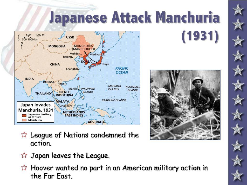 Japanese Attack Manchuria