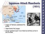 japanese attack manchuria 1931
