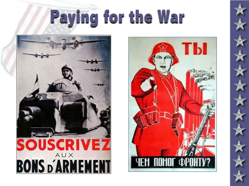 Paying for the War