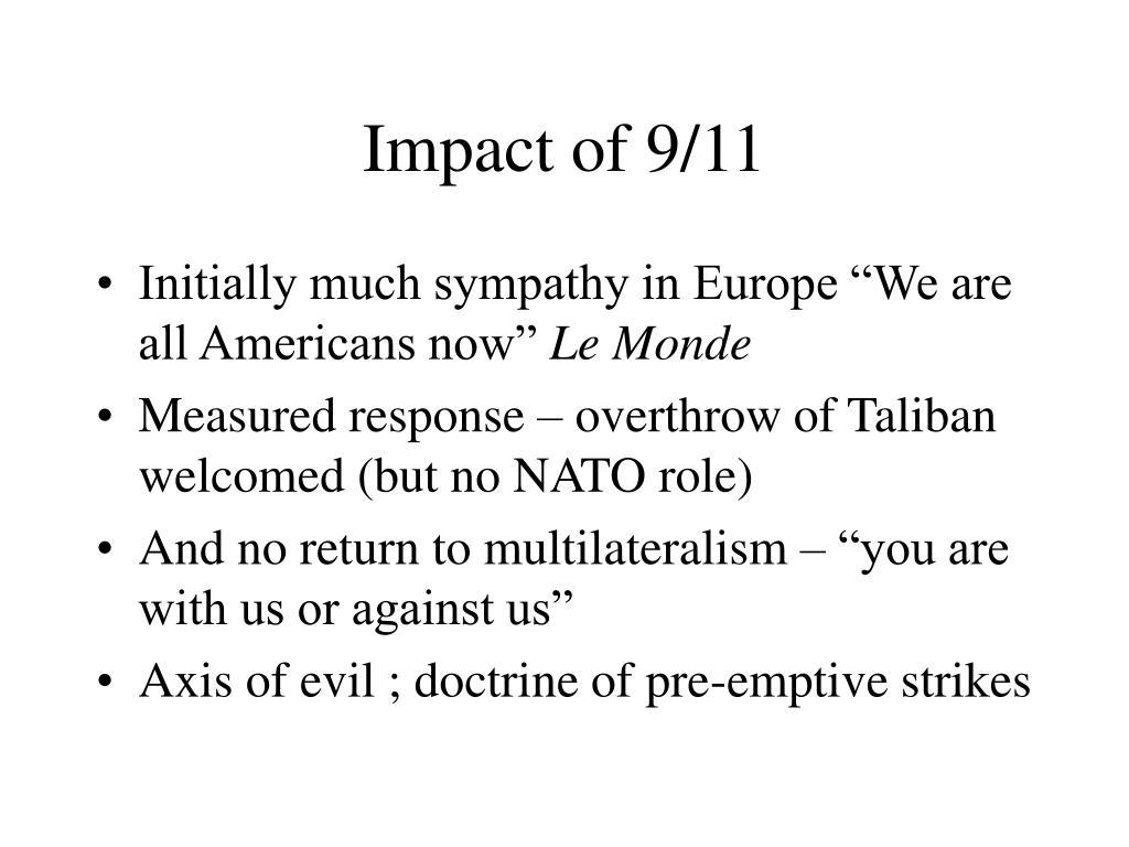 Impact of 9/11