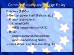 common security and foreign policy4