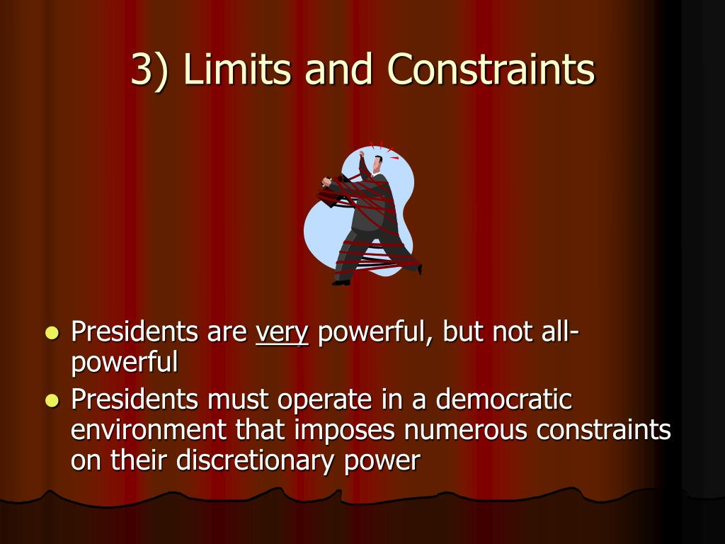 3) Limits and Constraints