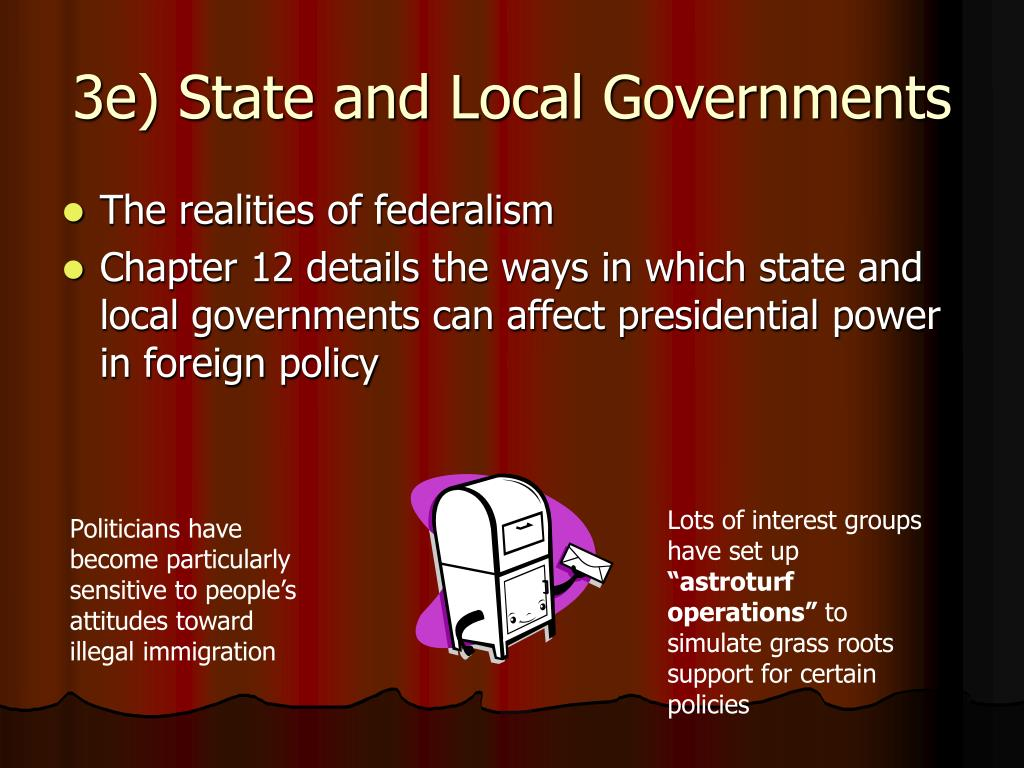 3e) State and Local Governments
