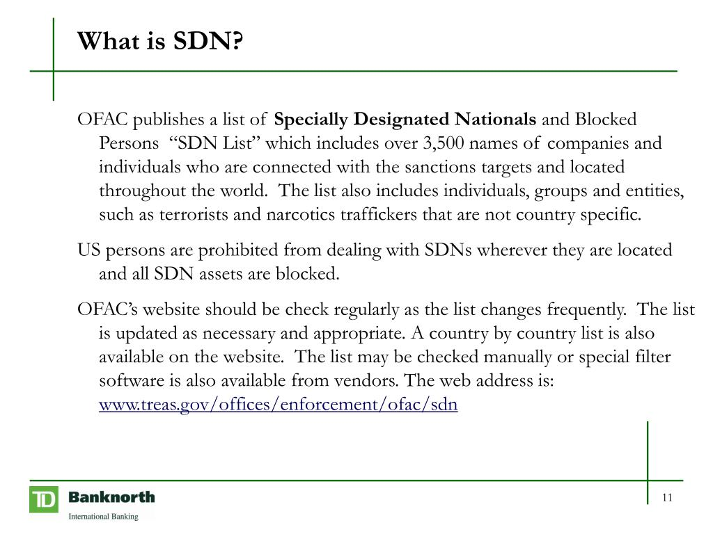 What is SDN?