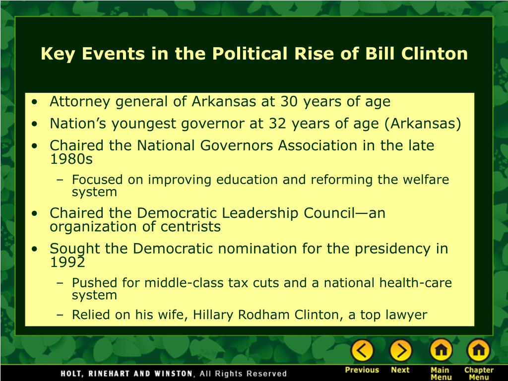 Attorney general of Arkansas at 30 years of age