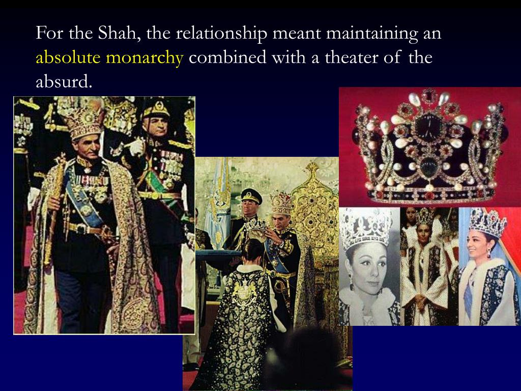 For the Shah, the relationship meant maintaining an