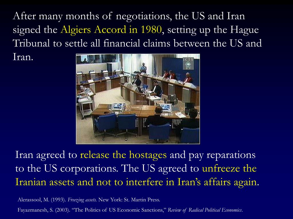 After many months of negotiations, the US and Iran signed the