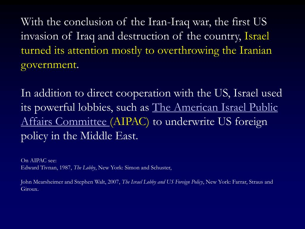 With the conclusion of the Iran-Iraq war, the first US invasion of Iraq and destruction of the country,