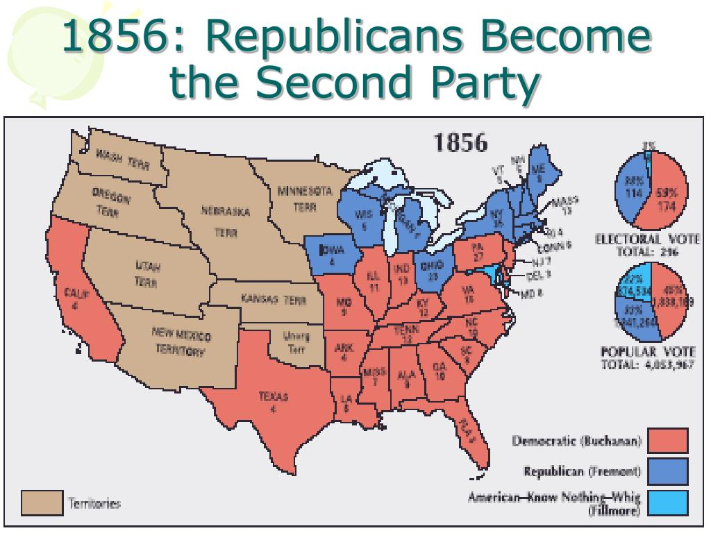1856: Republicans Become the Second Party