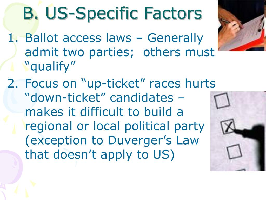 B. US-Specific Factors