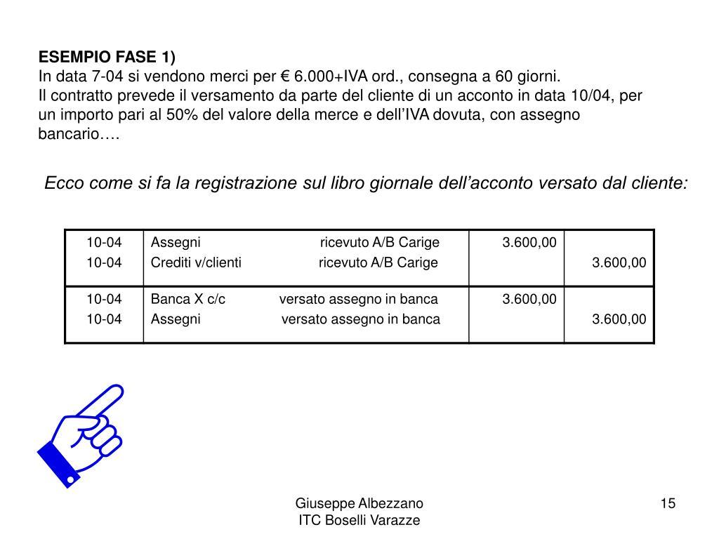 ESEMPIO FASE 1)